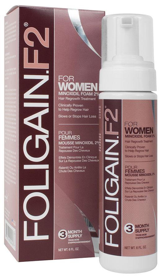 Foligain.F2 2 % minoksidiilivaahto naisille