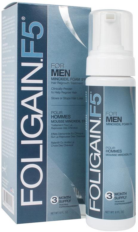 Foligain.F5 5 % Minoksidiili