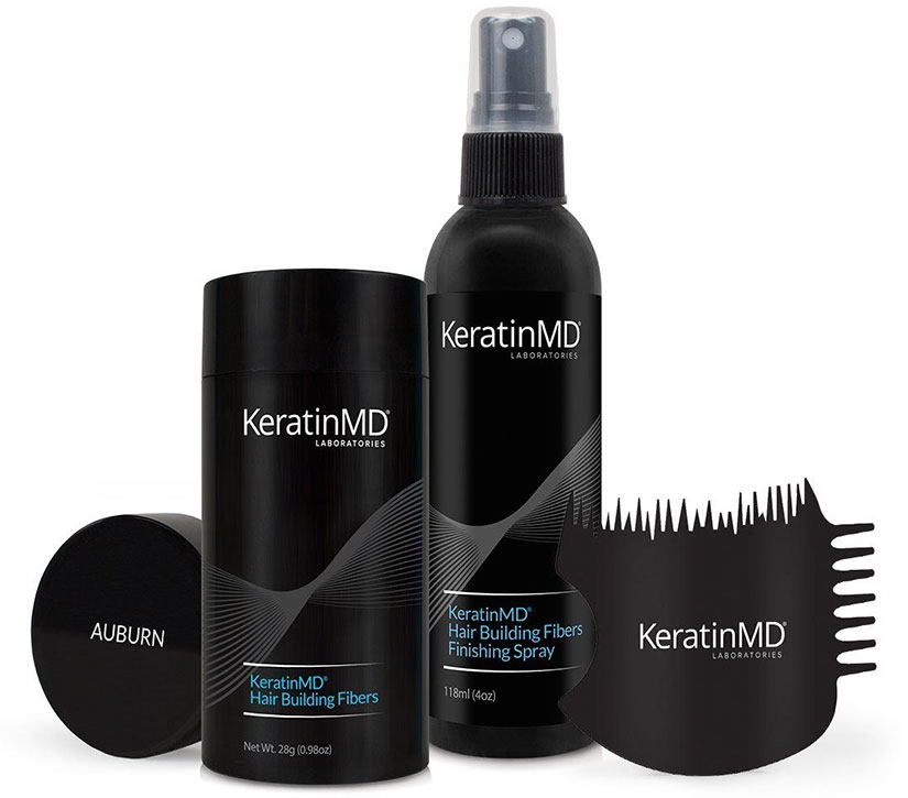 KeratinMD-hiustuuhenteet