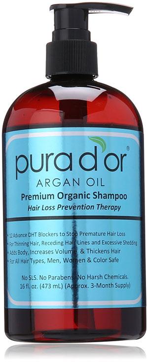 Pura d'Or Argan Oil Premium Organic Shampoo