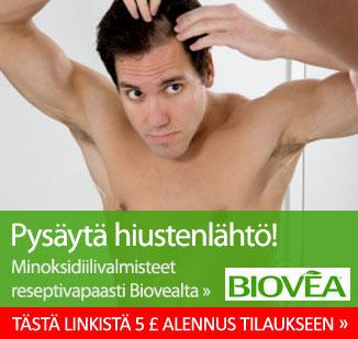 naisten kaljuuntuminen nuorena Loviisa